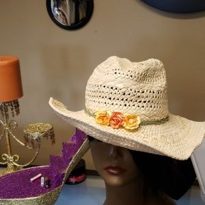 Womens Hat Straw